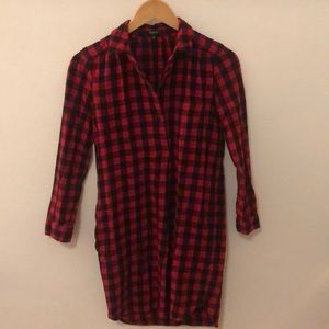 Madewell Flannel Tunic